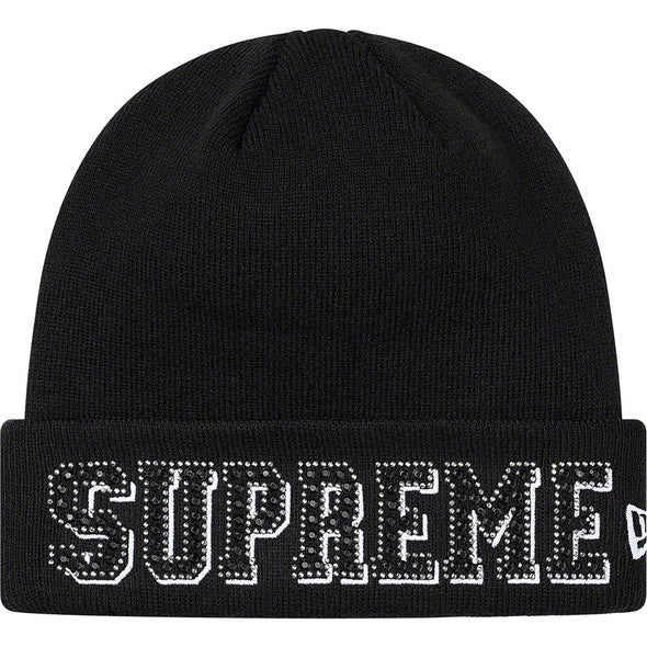 Supreme New Era® Gems Beanie (Black)