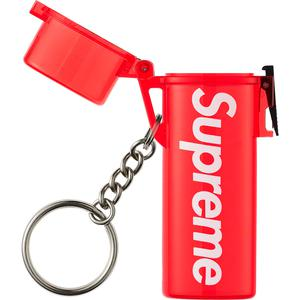 Waterproof Lighter Case Keychain (Red)