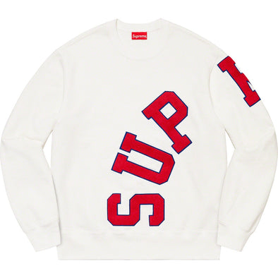 Supreme Big Arc Crewneck (White)