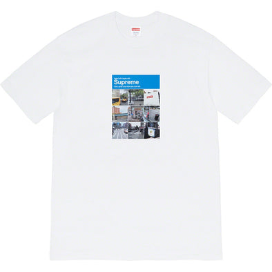 Supreme Verify Tee (White)