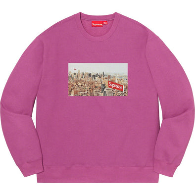Supreme Aerial Crewneck Purple