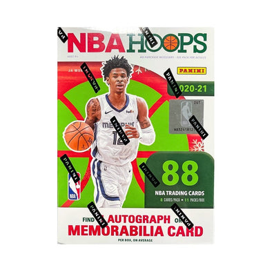 2020-21 Panini Hoops Basketball Winter Blaster Box (1 autograph/memorabilia card)