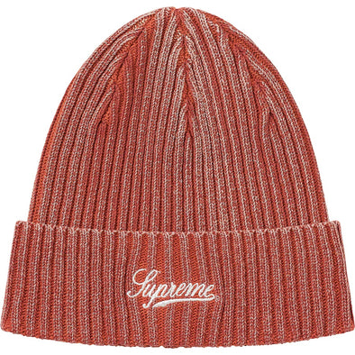 Supreme Bleached Rib Beanie (Orange)