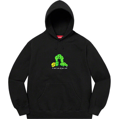 Supreme Don't Care Hoodie (Black)