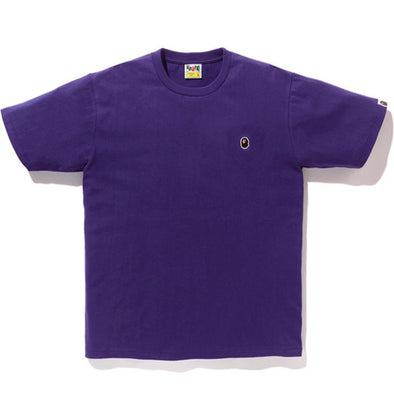 Bape Ape Head One Point Tee (Purple)