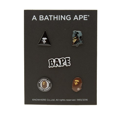 A Bathing Ape Pin Set