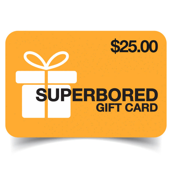Superbored Clothing Ltd. Gift Card