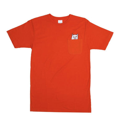 RIPNDIP Lord Nermal Pocket Tee (Safety Orange)