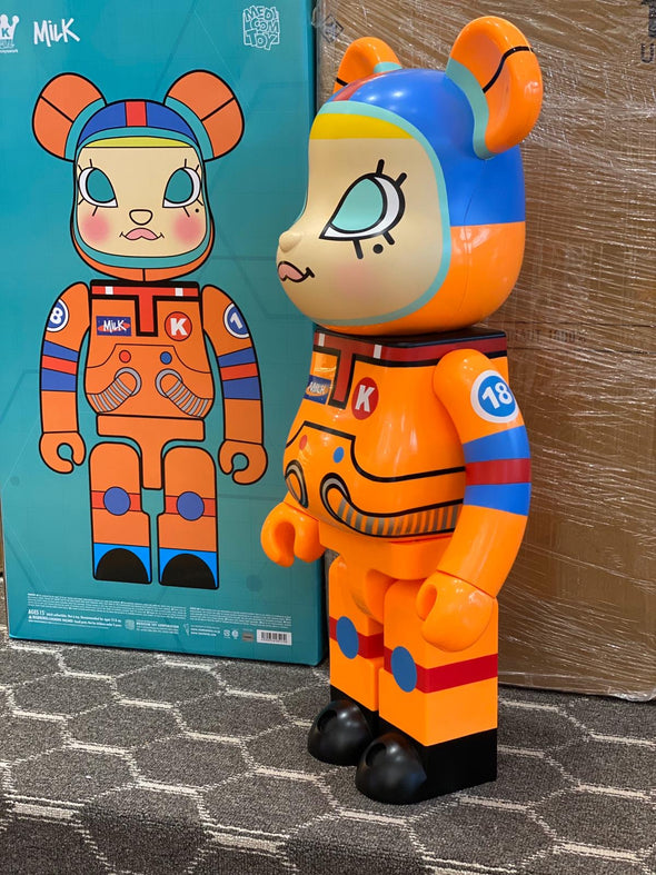 Be@rbrick x Milk Cargo Space Molly 1000%