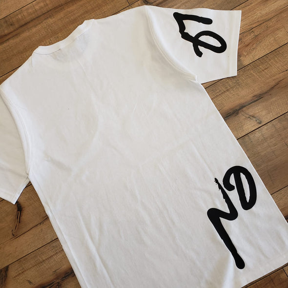 """NO OTHER GODS"" Champion Script Tee (White)"