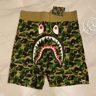 Bape ABC Camo Shark Face Shorts
