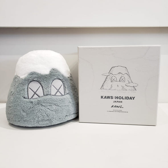 "KAWS:HOLIDAY JAPAN 8"" Mount Fuji Plush (Grey)"
