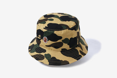 BAPE 1st Camo Bucket Hat (Yellow)