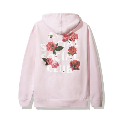 ASSC Smells Bad Rose Pink Hoodie (Anti Social Social Club)