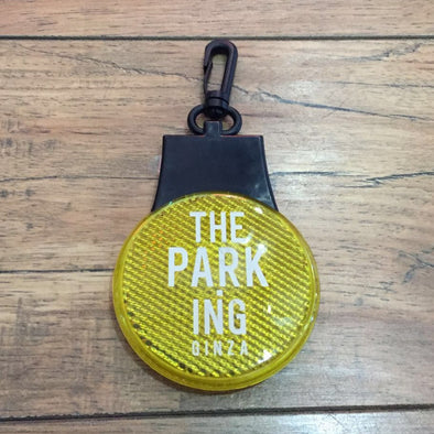 The Parking Ginza Flashing Reflector Light Key Holder