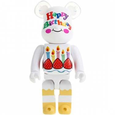 Happy Birthday 400% Be@rbrick Set