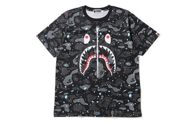 BAPE Space Camo Full Shark Tee (Black)