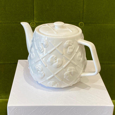 KAWS Ceramic Teapot white