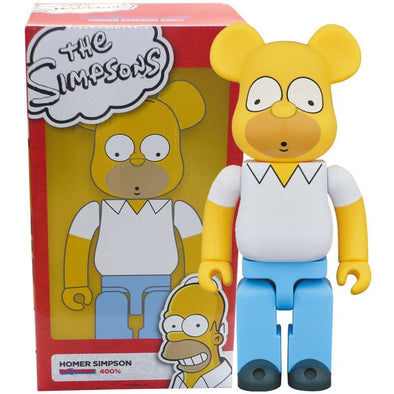 The Simpsons Homer 400% Be@rbrick