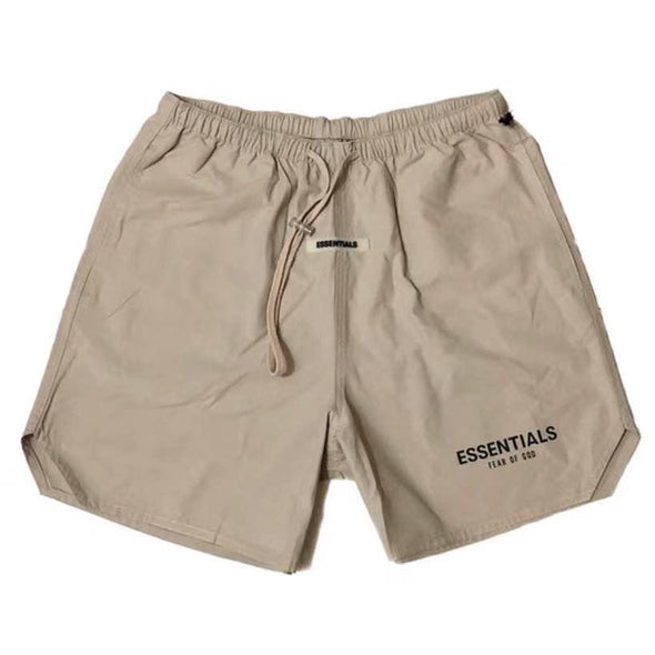 Fear Of God - FOG Essentials Nylon Active Shorts (Tan)