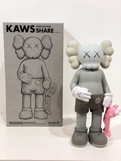 KAWS Share Vinyl Figure Grey