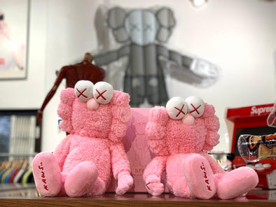 KAWS Pink BFF Plush Toy