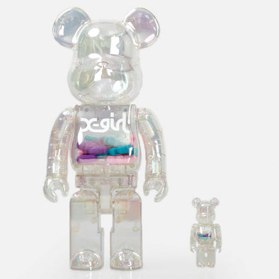 X-Girl MEDICOM Toy 100% & 400% BE@RBRICK