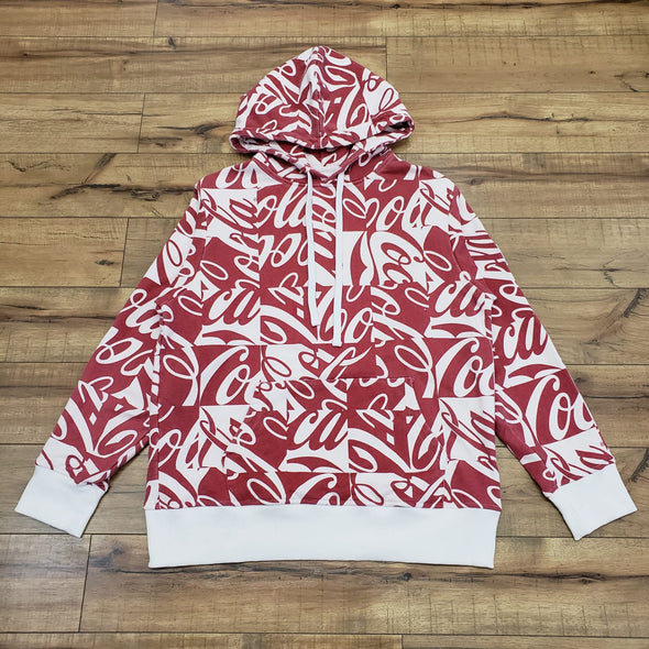 Kith X Coca-Cola Cubed Hoodie (Red)