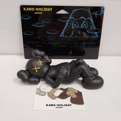 "KAWS:HOLIDAY JAPAN 9.5"" Vinyl Figures (Black)"