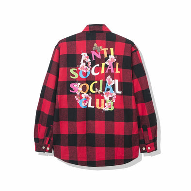ASSC Frantic - Red Flannel (ANTI SOCIAL SOCIAL CLUB)