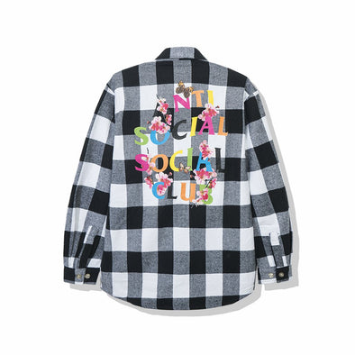 ASSC Frantic - White Flannel (ANTI SOCIAL SOCIAL CLUB)