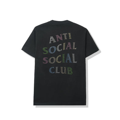 ASSC NT Black Tee with Rhinestones (ANTI SOCIAL SOCIAL CLUB)