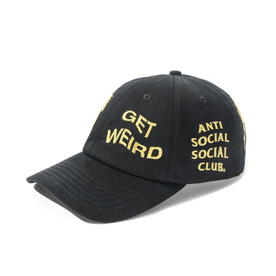 ASSC Just My Luck Cap - BLACK (ANTI SOCIAL SOCIAL CLUB)