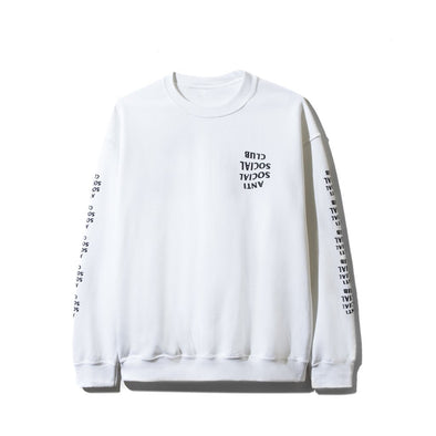 e307d9eb9151 ASSC Blacked Out White Long Sleeve Tee(Anti Social Social Club)