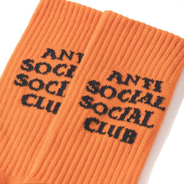 ASSC Neon Orange Socky Socks