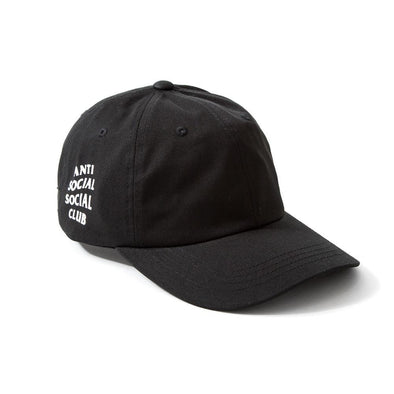 ASSC WEIRD CAP - BLACK (ANTI SOCIAL SOCIAL CLUB)