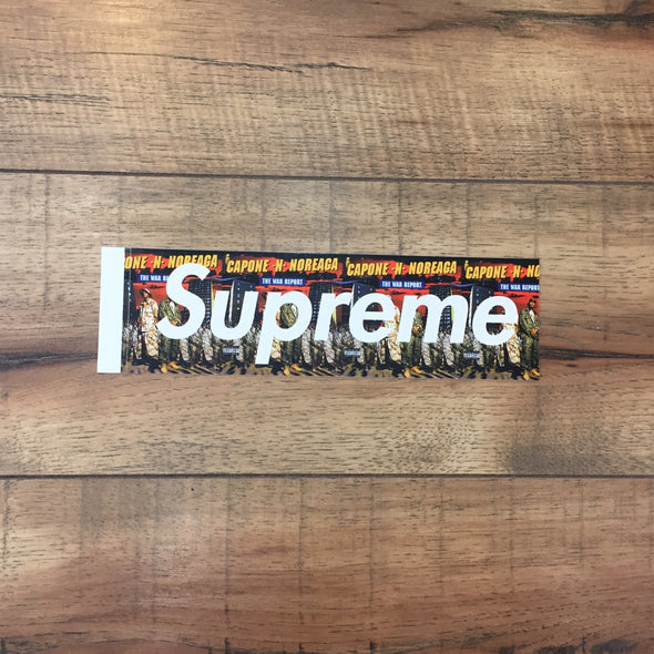 Supreme The War Report Noreaga Box Logo Sticker