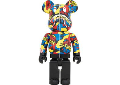 Bearbrick BAPE Camo Shark 1000% Multi