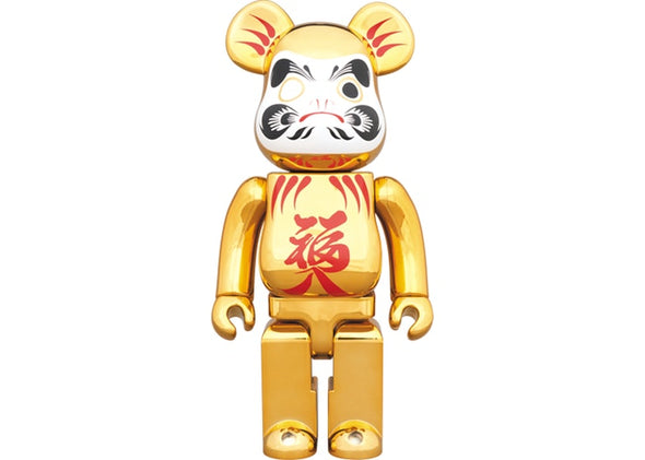 Be@rbrick Daruma Gold Plating Commitment 400% Gold