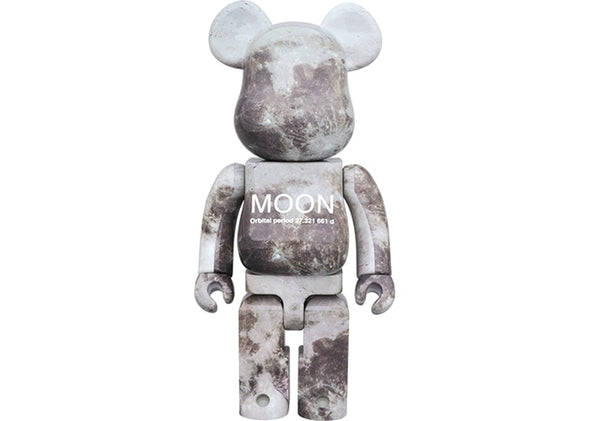 Be@rbrick Moon 1000%  Grey