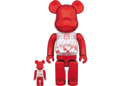 Be@rbrick My First Baby SJ50 100% & 400% Set Red