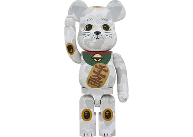 Be@rbrick x BAPE Maneki Neko Lucky Cat 1000%