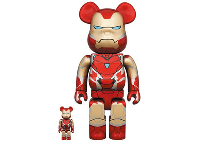 Be@rbrick x Marvel Iron Man Mark 85 100% & 400% Set
