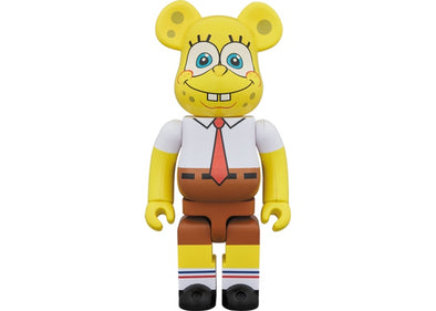 Bearbrick x Spongebob Squarepants 1000% Multi