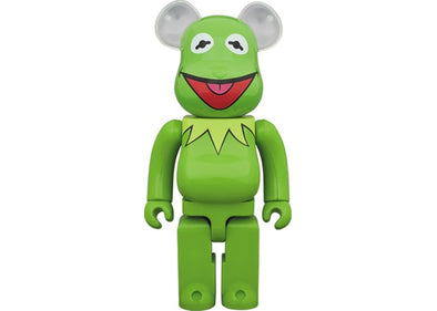 Bearbrick x The Muppets Kermit The Frog 1000%