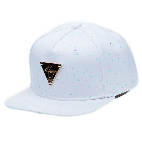 HATER Glow Speckles Snapback (White)