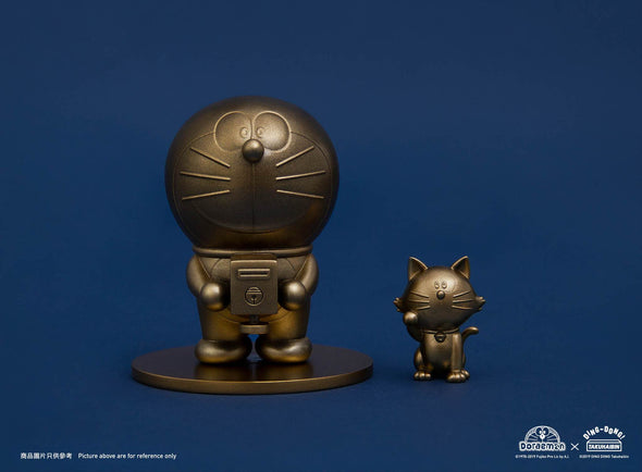 Pre-order: 2019 Doraemon cast bronze sculpture (Not include Lucky Cat sculpture)