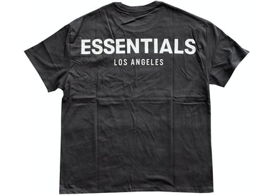 FEAR OF GOD ESSENTIALS Los Angeles 3M Boxy T-Shirt (Black)