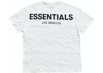 FEAR OF GOD ESSENTIALS Los Angeles 3M Boxy T-Shirt (White)