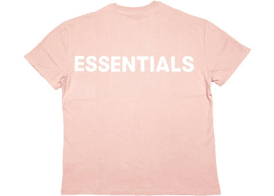 FEAR OF GOD ESSENTIALS Pink 3M Logo Boxy T-Shirt